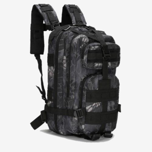 Рюкзак Mr. Martin 5007 черный питон