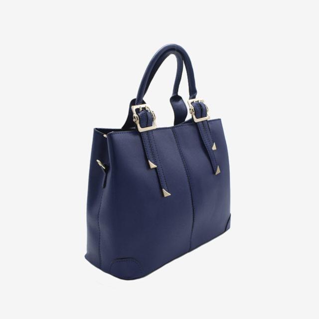 купить синюю кожаную сумку женскую в москве