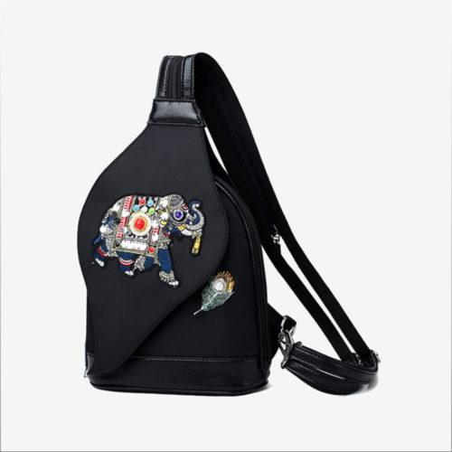 треугольный рюкзак с одной лямкой