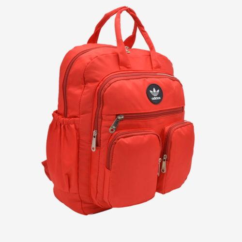 красный спортивный рюкзак