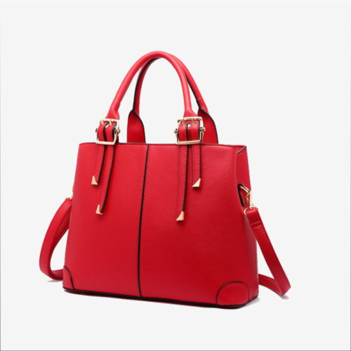 сумка красная женская
