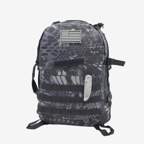рюкзак Mr. Martin 5006 черный питон