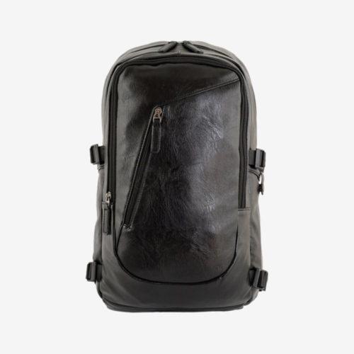 рюкзак мужской городской повседневный кожаный