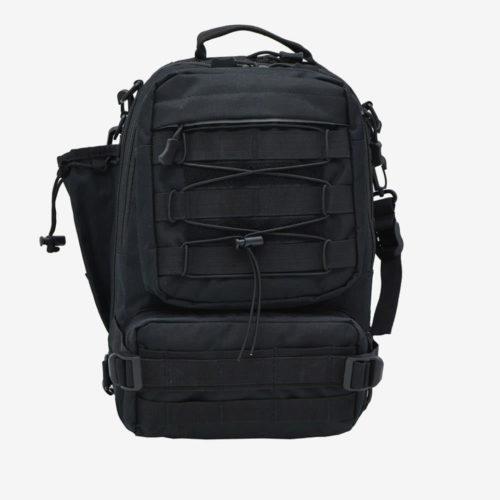 Сумка рюкзак для рыбалки Fisherman черный